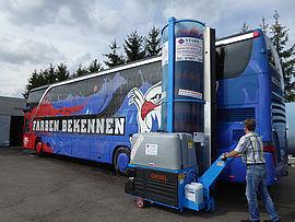 Stark Reinigungsgeräte GmbH - Omnibus Waschanlage mobil