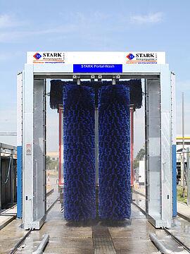 Stark Reinigungsgeräte GmbH - Bürsten-LKW Portalwaschanlage