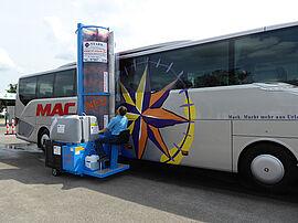 Stark Reinigungsgeräte GmbH - Omnibus Waschanlage