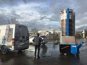 Stark Reinigungsgeräte GmbH - Bürstenwaschanlage LKW