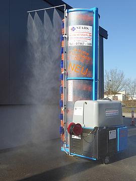Stark Reinigungsgeräte GmbH - Mobile LKW Waschbürste