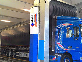Stark Reinigungsgeräte GmbH - Stationäre LKW Bürstenwaschanlage