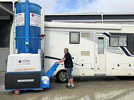 Stark Reinigungsgeräte GmbH - Bürstenwaschanlage für Reisemobile