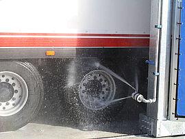 Stark Reinigungsgeräte GmbH - Rad Seitenwäsche - LKW Waschanlage
