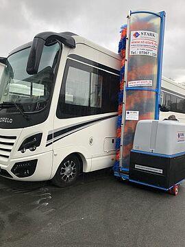 Stark Reinigungsgeräte GmbH - Waschanlage für Luxus Reisemobile
