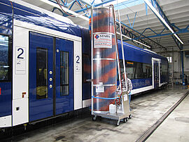 Stark Reinigungsgeräte GmbH - Mobile Zugwaschanlage