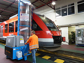 Stark Reinigungsgeräte GmbH - Zug Waschanlage