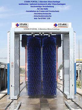 Stark Reinigungsgeräte GmbH - LKW Portalwaschanlage
