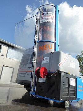 Stark Reinigungsgeräte GmbH - Mobil mit Dachwäsche
