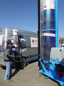 Stark Reinigungsgeräte GmbH - Mobile Waschanlage Bus