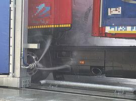 Stark Reinigungsgeräte GmbH - Portalwaschanlage Seitenhochdruckwäsche