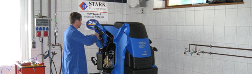 Stark Reinigungsgeräte GmbH - Werkstatt