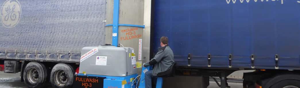 Stark Reinigungsgeräte GmbH - mobile Bürstenwaschanlage