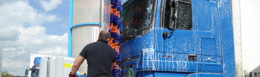 Stark Reinigungsgeräte GmbH - LKW Waschanlage selbstfahrend