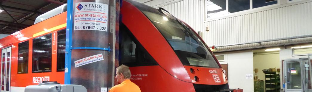 Stark Reinigungsgeräte GmbH - Waschanlage für Züge